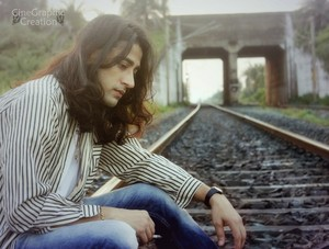Rajkumar Patra lonely railway track smoking in rail road