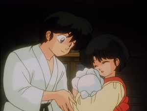 Ranma and Akane (らんま½ 乱馬 とあかね) (란마 ½ 란마 와 아카네)