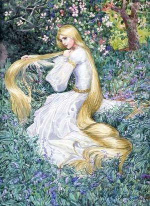 Rapunzel At