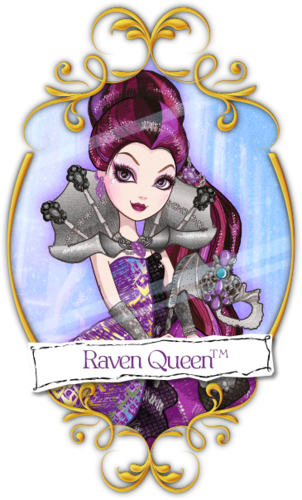 Ever After High wallpaper titled Raven Thronecoming