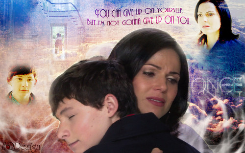 once upon a time wallpaper possibly with a portrait titled Regina