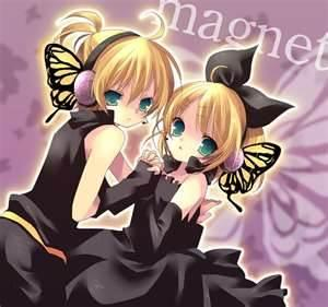 Rin and Len Magnet