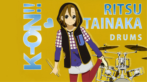 Tainaka Ritsu wallpaper probably with anime entitled Ritsu Tainaka