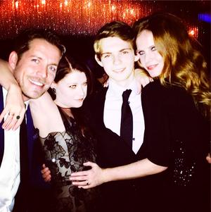 Robbie, Rebecca, Emilie and Sean