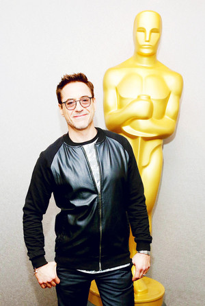 "Robert Downey Jr. at the official Academy Members Screening of ""The Judge"" 