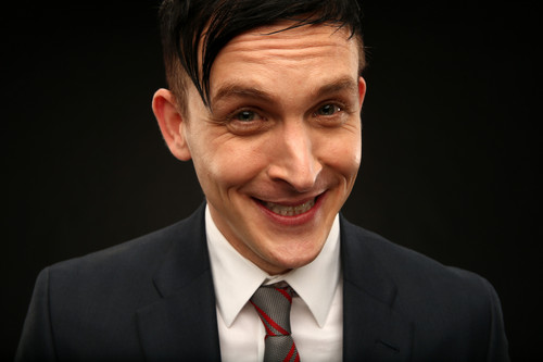 Gotham wallpaper containing a business suit, a suit, and a two piece titled Robin Lord Taylor as Oswald Cobblepot