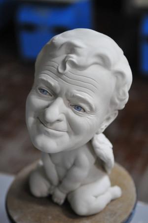 Robin Williams Angel –Jäger der Finsternis figurine