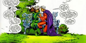 Rogue and Erik