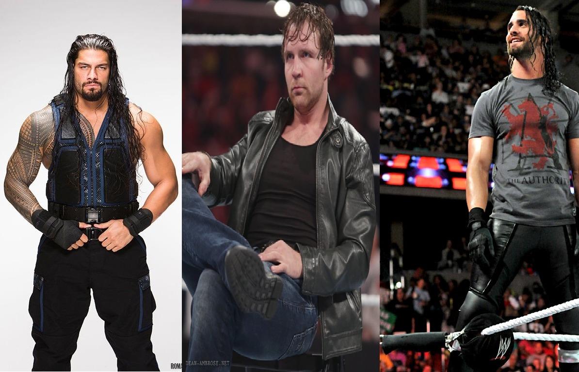 The Shield Wwe Immagini Roman Reignsdean Ambroseseth Rollins Hd