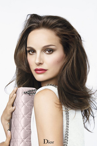 natalie portman wallpaper containing a portrait entitled Rouge Dior Baume