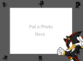 Shadow the Hedgehog Picture Frame Horizontal