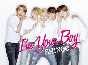 SHINee I AM YOUR BOY POSTER