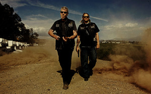 SOA fondo de pantalla - Clay and Jax