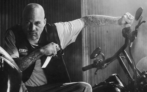 Sons Of Anarchy wallpaper containing a drummer and a concert entitled SOA Wallpaper - Happy