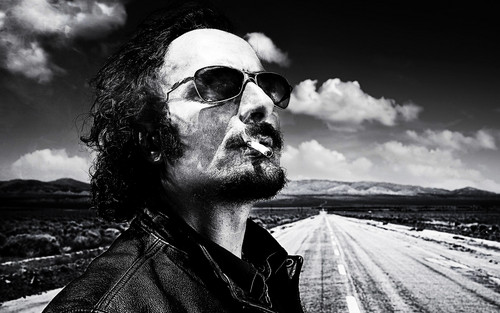 Sons Of Anarchy wallpaper containing sunglasses called SOA Wallpaper - Tig