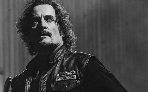 Sons Of Anarchy wallpaper containing a concert and a guitarist titled SOA Wallpaper - Tig