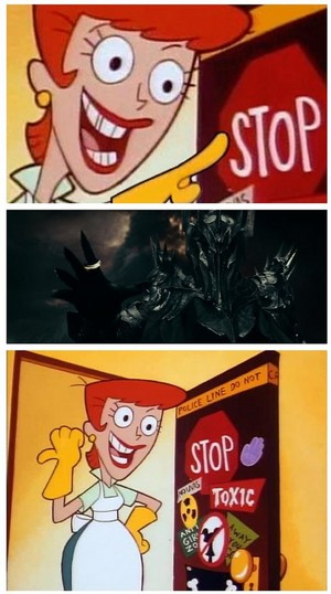 STOP it, Sauron!