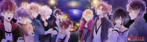 Diabolik amoureux fond d'écran entitled [Vandead Carnival] Sakamaki and Mukami brothers