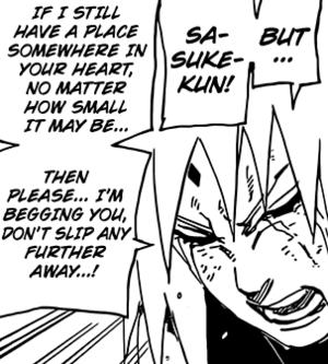 Sakura's l'amour Confession To Sasuke - Chapter 693