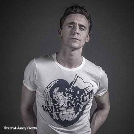 Tom Hiddleston wallpaper with a jersey titled Save the Arctic