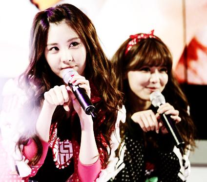 Seohyun and Sooyoung