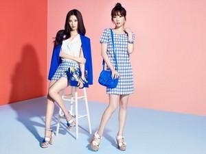 Seohyun and Taeyeon for Mixxo