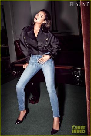 Shay Mitchell  in Flaunt magazine