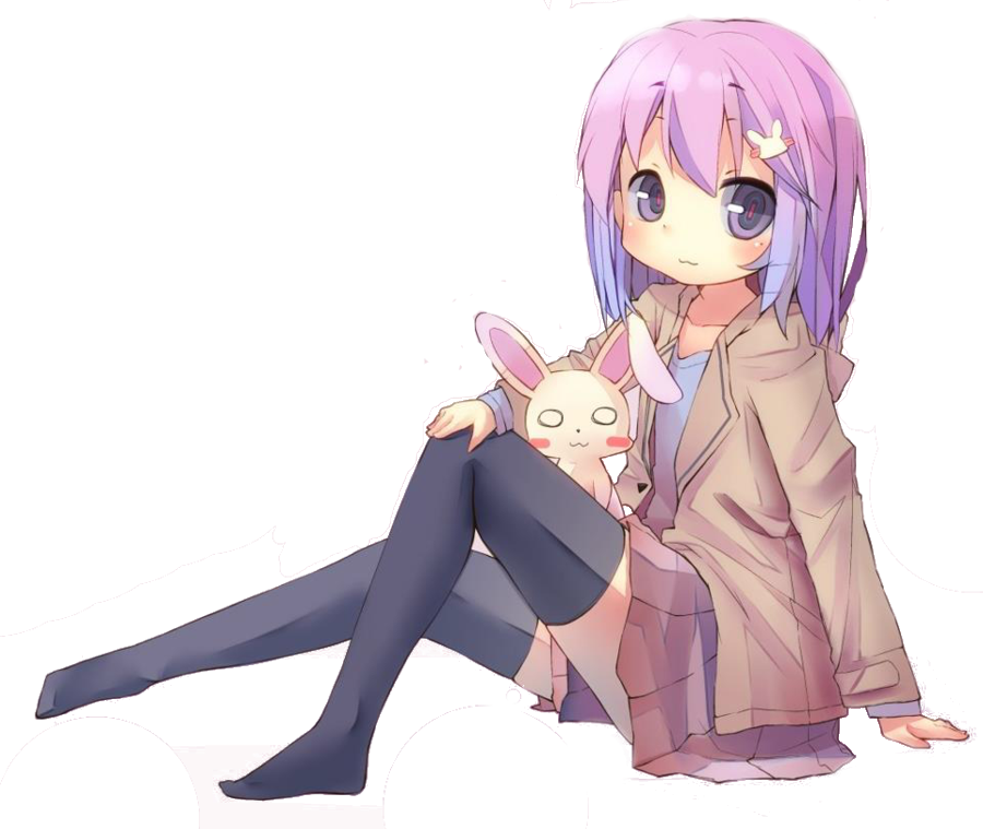 Opinion Cute anime girl transparent something is