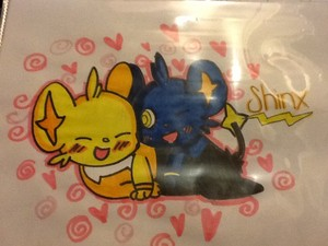 Shinx x Shiny Shinx (To my girlfriend)