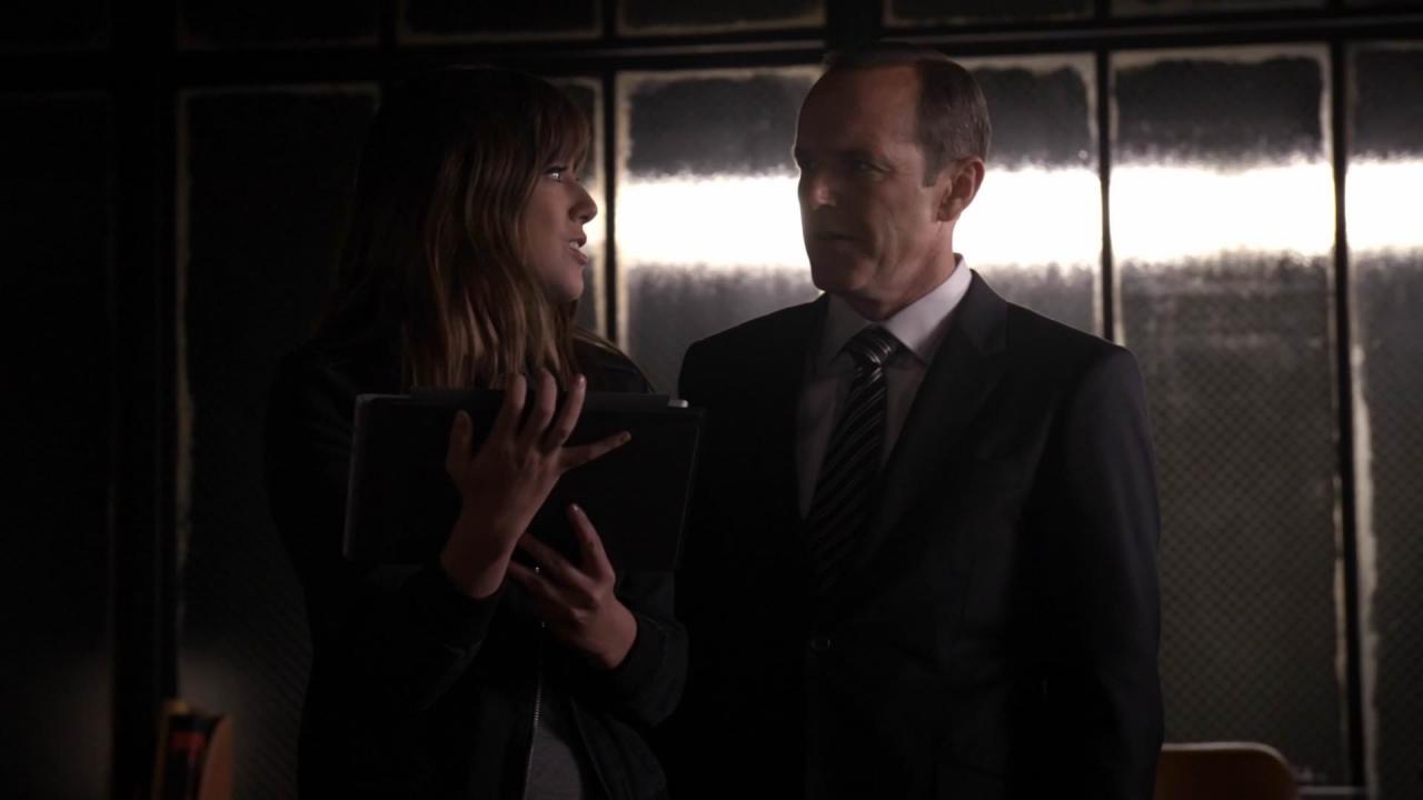 Skye and Coulson