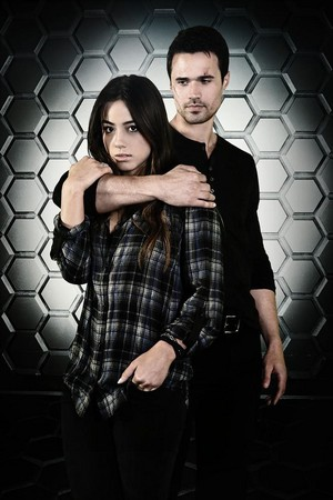 Skye and Grant Ward