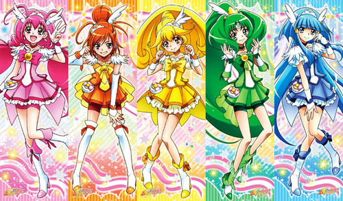 pretty cure achtergrond called Smile Precure