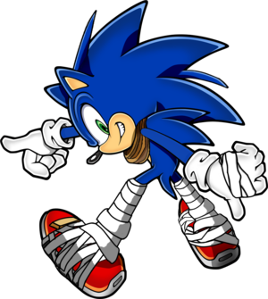 Sonic Boom Pose