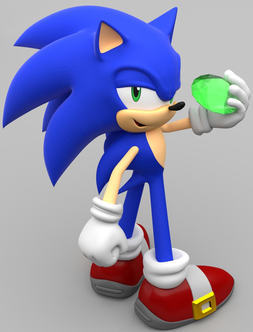 Sonic изумруд