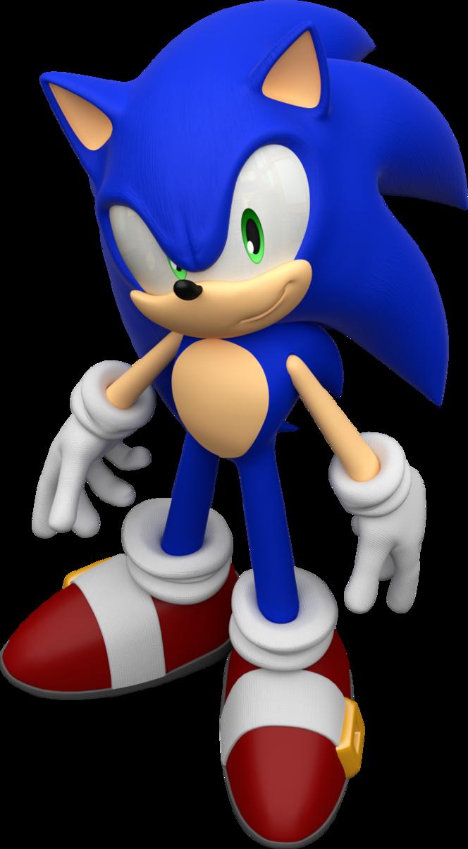 Sonic The Hedgehog render