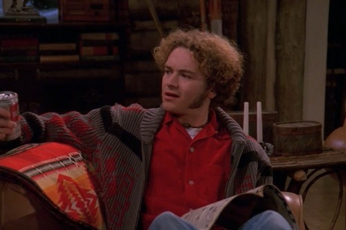 Шоу 70-х Обои probably with a street, a covered wagon, and a chuck wagon entitled Steven Hyde