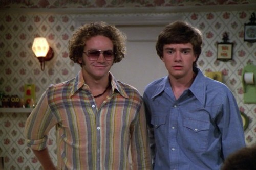 Шоу 70-х Обои titled Steven Hyde and Eric Forman