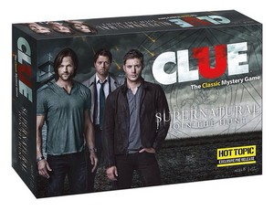 Supernatural CLUE Boardgame