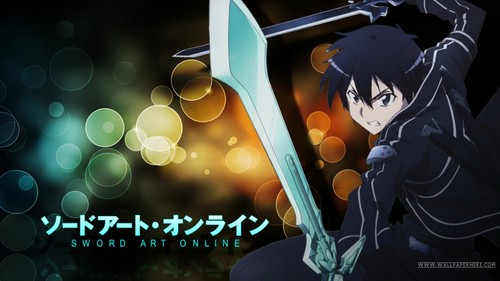 Sword Art Online wallpaper titled Sword Art Online with Kirito