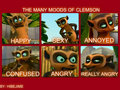 THE MANY MOODS OF Clemson