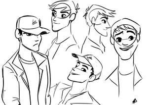 Tadashi sketches