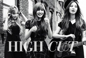 Taetiseo HIGH CUT October Issue