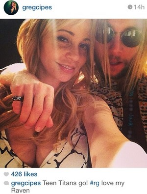 Tara Strong and Greg Cipes