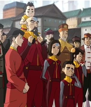 Avatar: The Legend of Korra wallpaper with anime titled Tenzin and the family