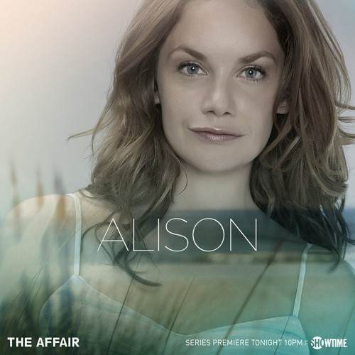 The Affair (2014 TV Series) wolpeyper with a portrait entitled The Affair Characters