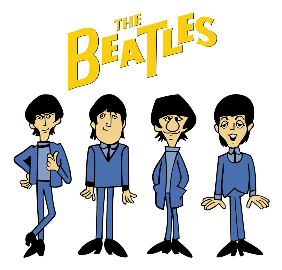 The Beatles Images The Beatles Cartoon HD Wallpaper And