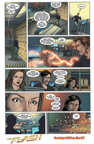 The Flash - Episode 1.02 - Fastest Man Alive - منظر پیش Comic