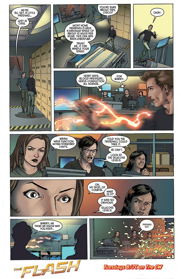 The Flash - Episode 1.02 - Fastest Man Alive - Preview Comic