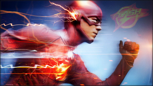 The Flash (CW) fond d'écran entitled The Flash