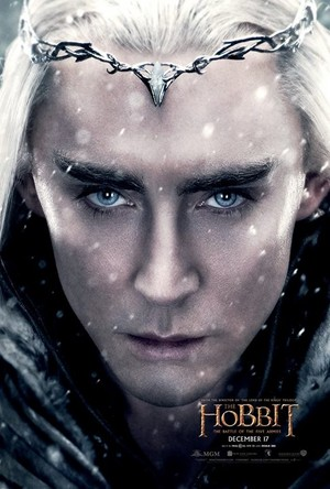The Hobbit: The Battle Of The Five Armies - King Thranduil Character Poster